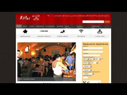 www.aplus-hostel.cz