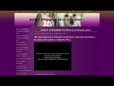 www.kurzystrihaniapsov-martin.wbl.sk