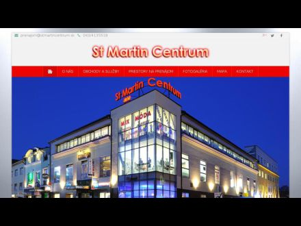 www.stmartincentrum.sk