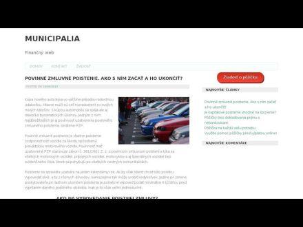 www.municipalia.sk