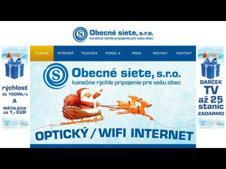 www.obecnesiete.sk