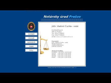 www.notar-presov.sk