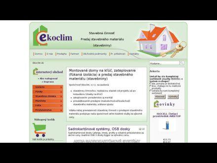 www.ekoclim.sk