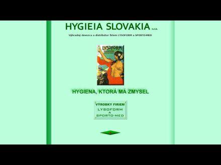 www.hygieia-sk.com