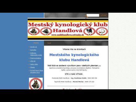 www.mskkhandlova.estranky.sk