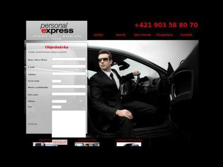 www.personalexpress.sk