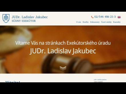 www.exekutorjakubec.sk