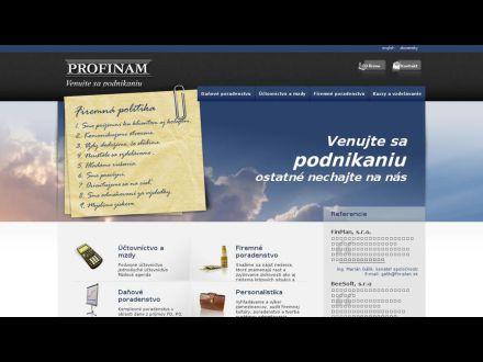 www.profinam.sk