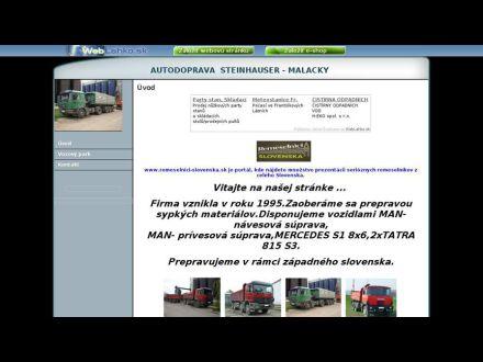 www.autodopravamalacky.weblahko.sk