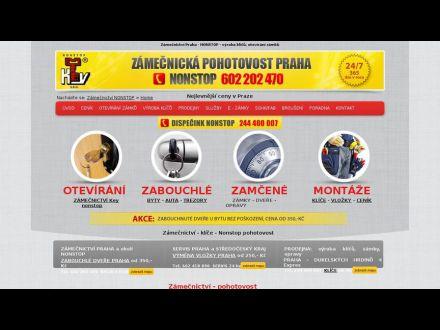 www.zamecnictvi-keynonstop.cz