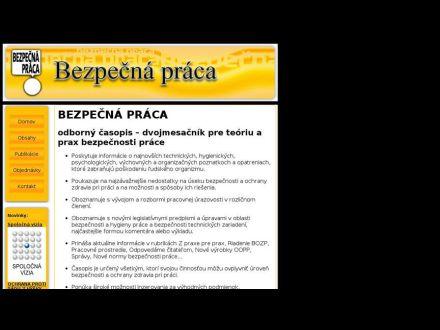 www.bezpecnapraca.sk