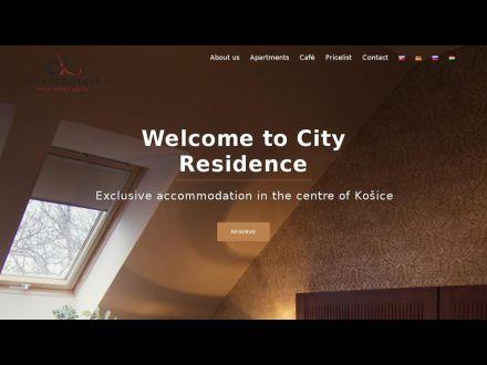www.cityresidence.sk