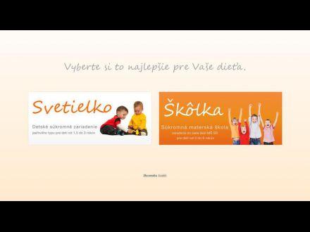 www.detske-svetielko.sk
