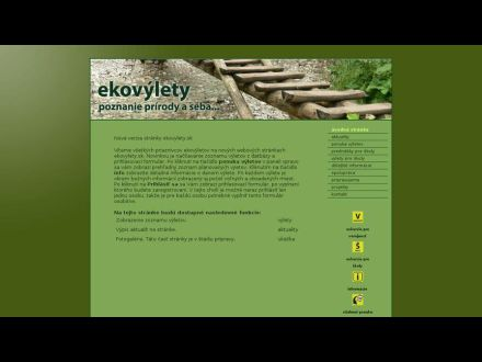 www.ekovylety.sk