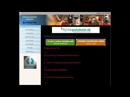www.handballmalacky.sk