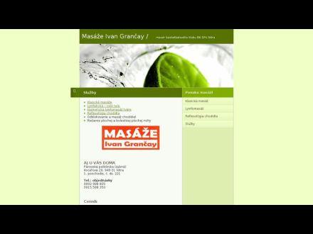 www.masazegrancay.sk