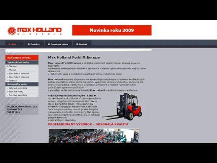 www.maxholland.sk