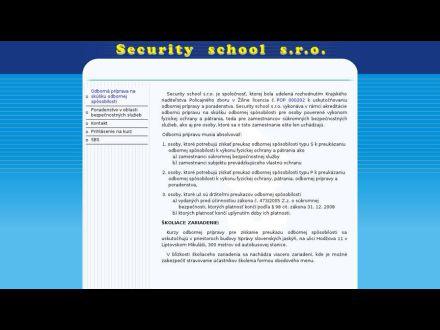 www.securityschool.sk