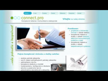 www.connectpro.sk