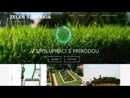 www.zelen-slovakia.sk