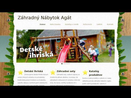 www.zahradnynabytokagat.sk