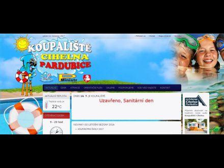 www.koupalistepardubice.cz