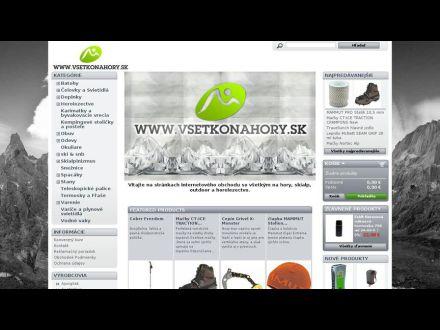 www.vsetkonahory.sk