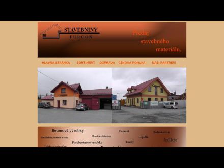 www.stavebninyfurcon.sk