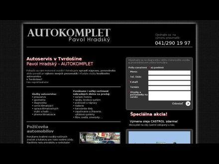 www.autoservis-tvrdosin.sk