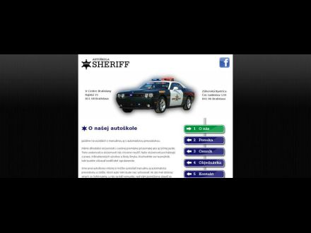 www.autoskola-sheriff.eu