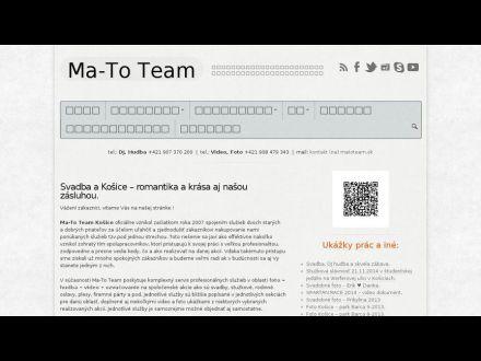 www.matoteam.sk