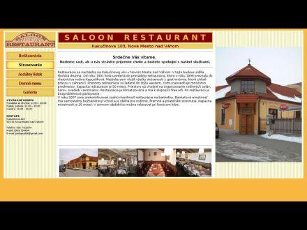 www.saloonrestaurant.sk