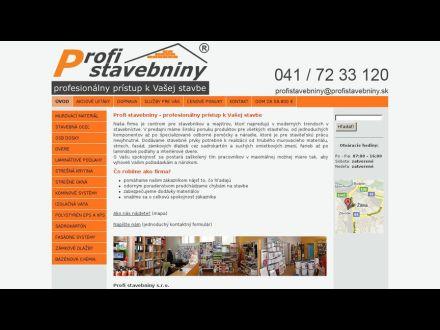 www.profistavebniny.sk