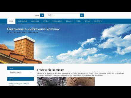 www.frezovanie-kominov.sk