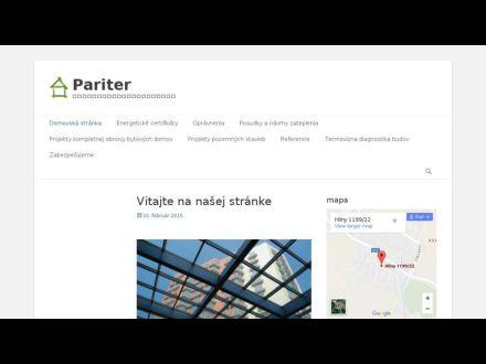 www.pariter.sk