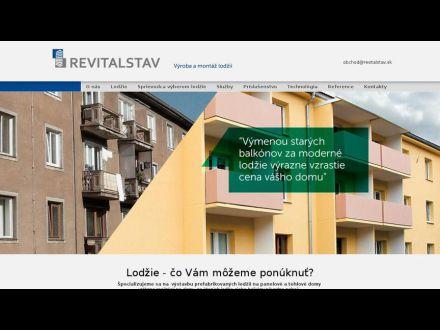 www.revitalstav.sk