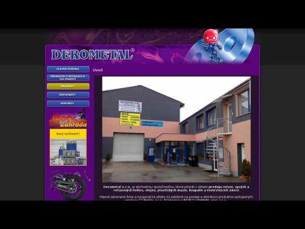 www.derometal.sk