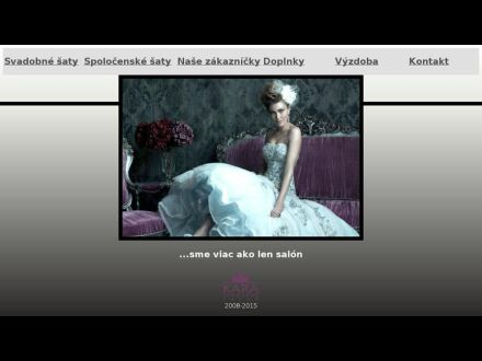 www.svadobnysalonkara.sk