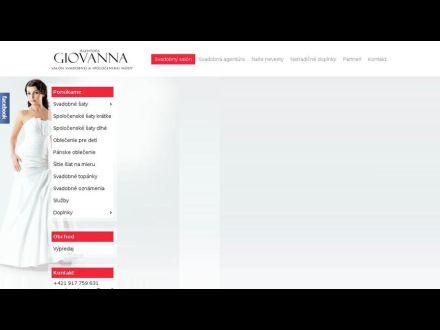 www.agenturagiovanna.sk