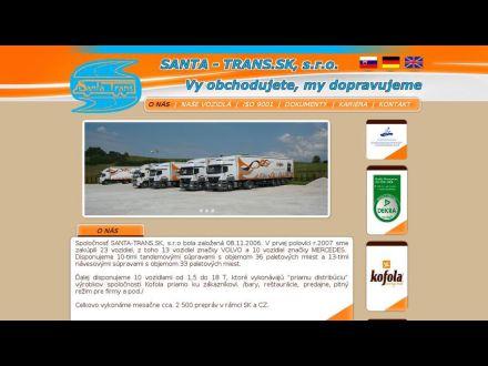 www.santatrans.sk