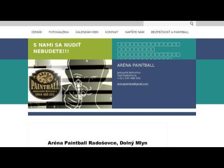 www.arenapaintbal.webnode.sk