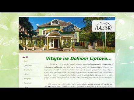 www.liptov.sk/penzionblesk