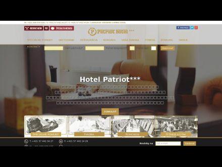 www.hotelpatriot.sk