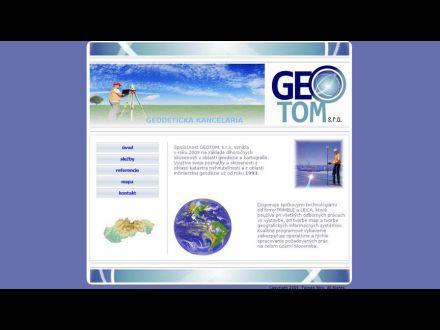www.geotom.sk