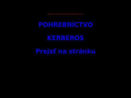 www.pohrebnictvokerberos.sk