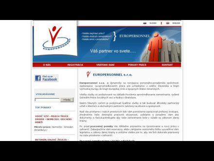 www.europersonnel.sk