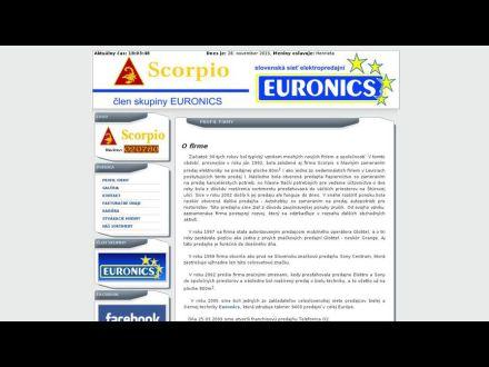 www.scorpio-lv.sk