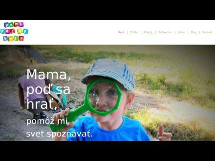 www.mamapodsahrat.sk