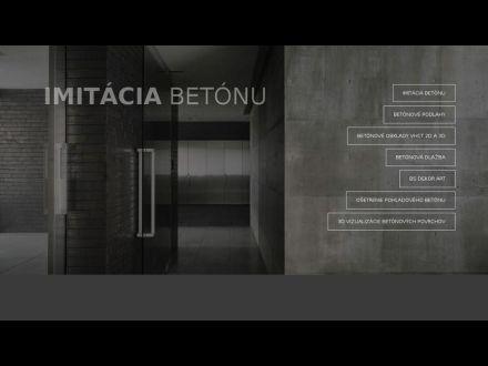 www.imitaciabetonu.sk