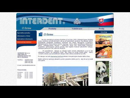 www.interdent.sk